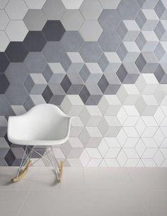 Azulejos geométricos hexagonales. Una tendencia llena de posibilidades.   Mil Ideas de Decoración