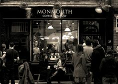 London, Monmouth Coffee Company   - Explore the World with Travel Nerd Nici, one Country at a Time. http://TravelNerdNici.com