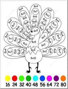 Blog de atividades fundamental 1 e 2: Exercícios para crianças com multiplicação por 8