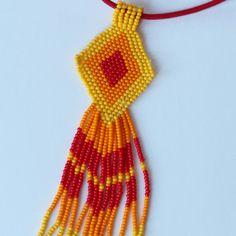 beaded pendant / necklace / pendant / jewelry
