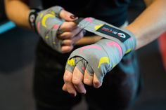 Need a tutorial to learn how to wrap your hands with my boxing wraps? I made it! Go to Mizzfit.com to watch and get my wraps here for $12: https://g-loves.com/banana-boxing-handwraps.html