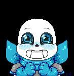 Welcome friends! - UnderSwap Sans pagedoll by KyubeyGirl