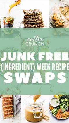 Healthy Food Swaps, Healthy Foods To Eat, Real Food Recipes, Healthy Snacks, Healthy Recipes, Skinny Recipes, Chicken Recipes, Healthy Crackers, Artificial Food Coloring