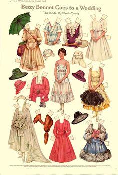 Vintage Paper Dolls  Vintage Paper Dolls Victorian Paper Dolls
