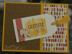 Stampin' Up!,For All Things,Color Me Autumn