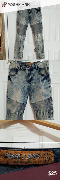32x32 Mens Denim & Rivets Premium Jeans Men's Denim & Rivets Premium Jeans in great condition.  Hardly worn. Denim & Rivets Jeans Straight