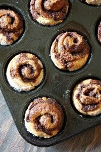 Cinnamon Roll Muffins...my entire family gobbled them up and then begged for more! Used buttermilk in dough too!