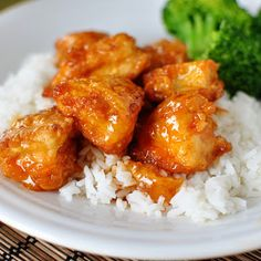 Sweet and Sour Chicken (Sorry, Kiri Liz, but this is another soy-filled dish!  However, for those who are interested in making your own Chinese food, this is both easy and filling, not to mention scrumptious!)