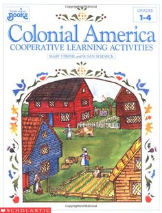 FREE Colonial Trades Coloring Book
