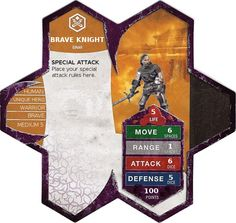 Custom Heroscape Cards - Make Your Own Heroscape Army Cards