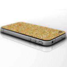 Cork iphone case by Slickwraps
