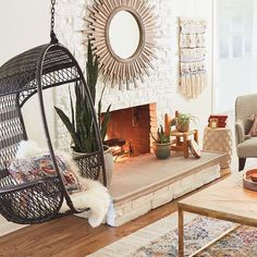 Papasan Natural Chair Frame | Pier 1