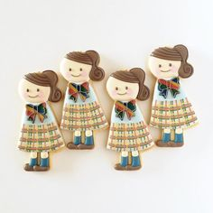 School Girls Cookie // fiocco