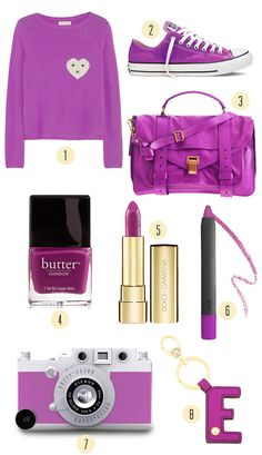 Color Story - Pantone Radiant Orchid.