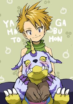 Looking pretty relaxed. It's good to have a best friend. Anime Guys, Manga Anime, Digimon Wallpaper, Digimon Adventure 02, Pokemon, Digimon Frontier, Digimon Digital Monsters, Fanart, Neon Genesis Evangelion