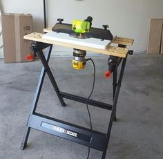 Diy Furniture Plans Wood Projects - New ideas Wood Router Table, Router Table Plans, Diy Furniture Plans Wood Projects, Woodworking Projects Diy, Router Projects, Trim Router, Diy Workbench, Portable Workbench, Rockler Woodworking