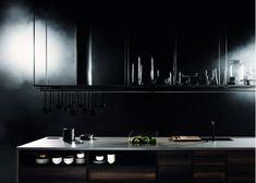 Boffi - Code kitchen / By Piero Lissoni / Ph. Kitchen Furniture, Kitchen Interior, Kitchen Decor, Furniture Design, Kitchen 2016, Dark Grey Kitchen, Boffi, Kitchen Utilities, Home Kitchens