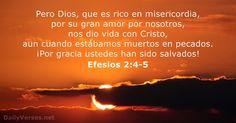 Efesios 2:4-5 - dailyverses.net
