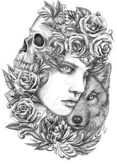 Wolf 2 by fnigen