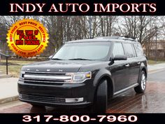 #SpecialOffer #FreeGas | $20,999 | 2013 #FordFlex Limited AWD - for Sale in Carmel IN 46032 #IndyAutoImports