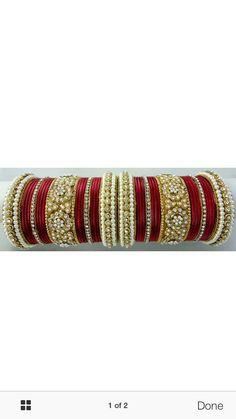 2.4 S Bollywood Bangles Bracelet Indian Punjabi Bridal Jewellery Chura Red D8 Year-End Bargain Sale Bridal & Wedding Party Jewelry Engagement & Wedding