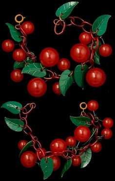 Bakelite cherries by bsueboutiques, via Flickr