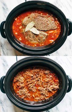 Slow Cooker Braised Beef Ragu | pinchofyum.com
