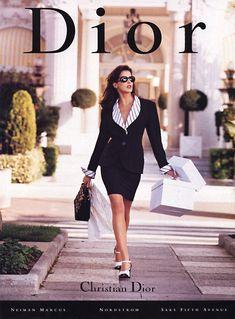 Stephanie Seymour for Christian Dior