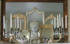 Great display of mirrors