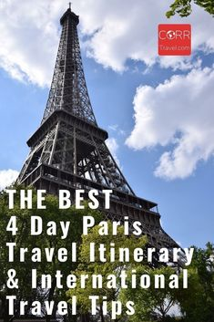 4 Days in #Paris CAN be enough to see the top sights if you do it right with this 4 day Paris travel itinerary and international travel tips ideal for over 40 travel and solo travel. By @CORRTravel #CORRTravel International Travel Tips | Travel Tips and Tricks | Travel Itinerary | France Travel Guide | Europe Travel Guide | Travel Planning | Over 40 Travel | Solo Travel Tips | Retirement Travel Ideas Paris Travel Tips, Solo Travel Tips, Europe Travel Guide, France Travel, Budget Travel, Travel Guides, Planning Budget, Trip Planning, 4 Days In Paris