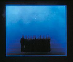 OPERATION : ORFEO A visual opera in three movements 1993 Set design Maja Ravn  Light design Jesper Kongshaug Set Design Theatre, Prop Design, Stage Design, Design Art, Movement Drawing, Welcome To Reality, Stage Lighting, Lighting Setups, Scenic Design