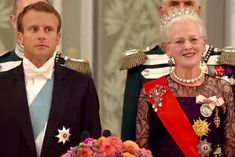 President of the Republic of France, Emmanuel Macron and Mrs. Macron is on a state visit in Denmark August H. The queen held on August at a galla dinner at Christiansborg Castle in honor of the Presidential Couple. Emmanuel Macron, Crown Princess Mary, Royal House, The Republic, Royals, Presidents, My Photos, Castle, Bling