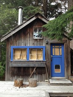 lovely little cabin - from la porte rouge: our time in Whistler