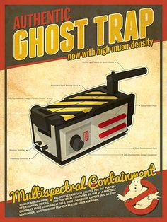 Ghostbusters - Ghost Trap by Christian Petersen