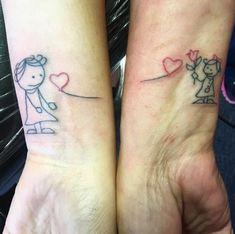 Mutter - Tochter - Tattoos -> alle schön! :) -> angucken!