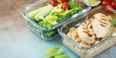 Healthy Meal Prep, Healthy Recipes, Meal Prep Containers, Quinoa, Prepping, Meals, Cooking, Ethnic Recipes, Breast