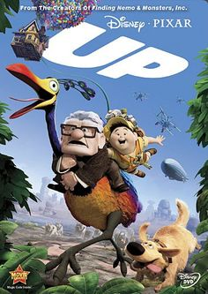 "Let Disney's Pixar Take You ""Up"" with this Feel Good Movie. It's SUCH a cute one!!"