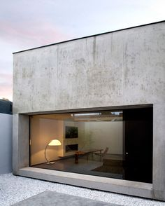 Concrete love - with that sexy large window