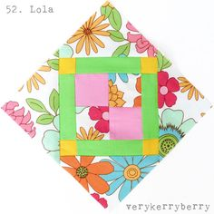 verykerryberry: Farmer's Wife QAL Blocks 51 and 52: Lily & Lola