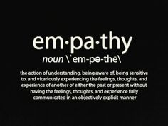 empathy-I am pretty sure that if I had super powers I would be an empath. You know being a pisces and all