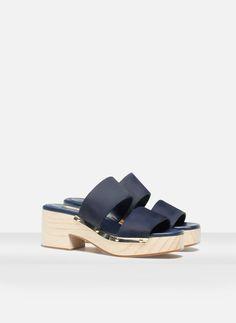 Wooden sandals - See all - FOOTWEAR - Uterqüe United Kingdom
