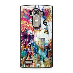 Colorful Lady Art Painting LG G4 case
