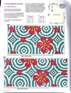 Cross Stitch Love, Cross Stitch Flowers, Cross Stitch Patterns, Chain Stitch Embroidery, Embroidery Stitches, Beading Patterns, Crochet Patterns, Tapestry Design, Craft Patterns