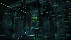 -The Precursor Base Interior- Subnautica Concept, Pat Presley on ArtStation at https://www.artstation.com/artwork/zn6Qd