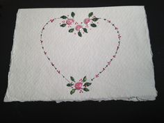 Dot to Dot..simple dot rose design anyone can do..create loads of designs just with dots it's all down to your imagination.. :-)