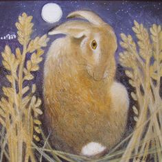 ♞ Artful Animals ♞  bird, dog, cat, fish, bunny and animal paintings - Janet Treby