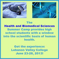 Health and Biomedical Sciences Summer Camp