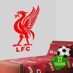 Liver Bird - Liverpool FC - Wall Decal Art Stickers football sport bedroom nursery playroom (Medium) KPCM Display,http://www.amazon.co.uk/dp/B00BRSK8J2/ref=cm_sw_r_pi_dp_jNFAtb1XWE52V6NM