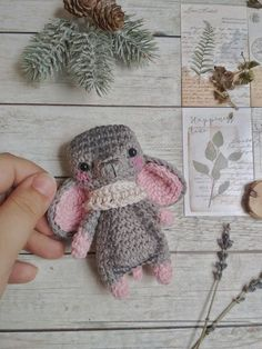 shema m shonok amigurumi 457748749626450899 Bunny Crochet, Crochet Animal Amigurumi, Amigurumi Patterns, Crochet Animals, Crochet Toys, Craft Accessories, Stuffed Toys Patterns, Loom Beading, Handmade Toys