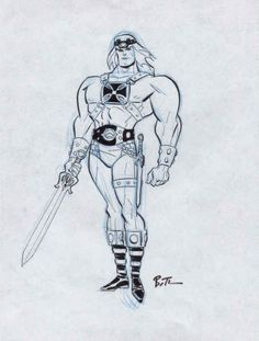 He-Man by Bruce Timm